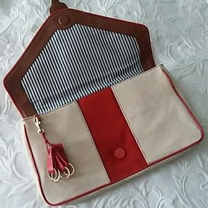 Pilcro and the Letterpress clutch purse